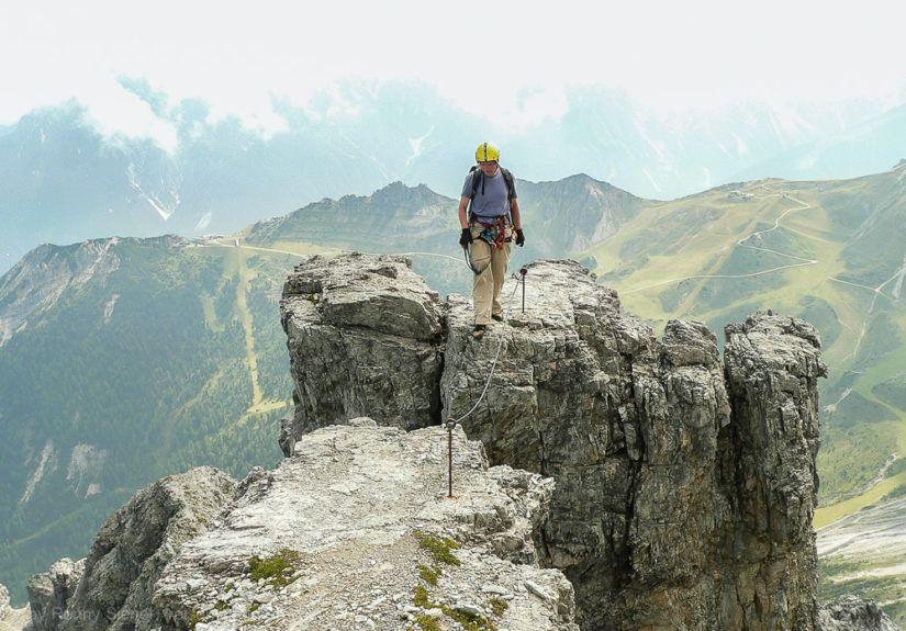 Schlicker Klettersteig im Stubaital