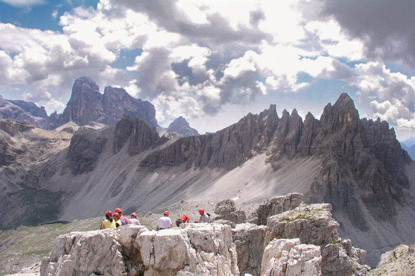 Klettersteig Drei Zinnen : Unbedingt machen drei zinnen klettersteig