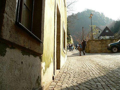 Wanderweg in Schilka