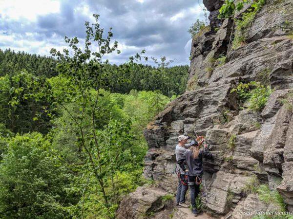 Klettersteig Gratweg für Anfänger bei Wolkenstein