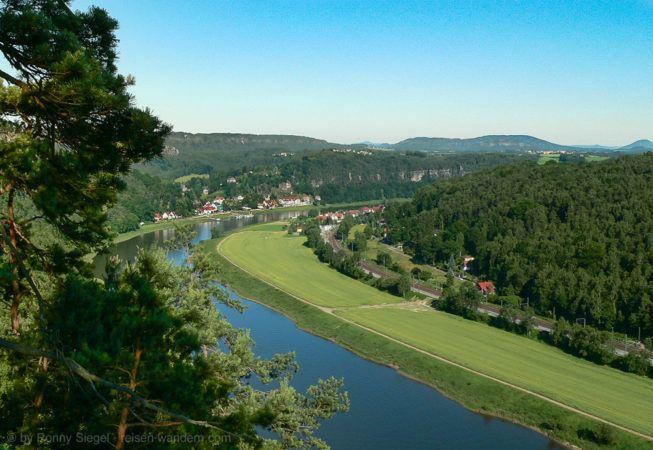 Foto: Bergpfad bei Wehlen
