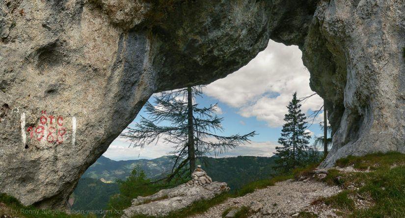 Uschowa Felstor in Kärnten