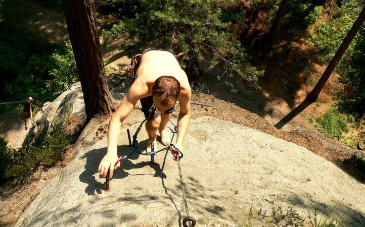 Klettersteig Jonsdorf : Grossartig klettersteig nonnensteig in jonsdorf