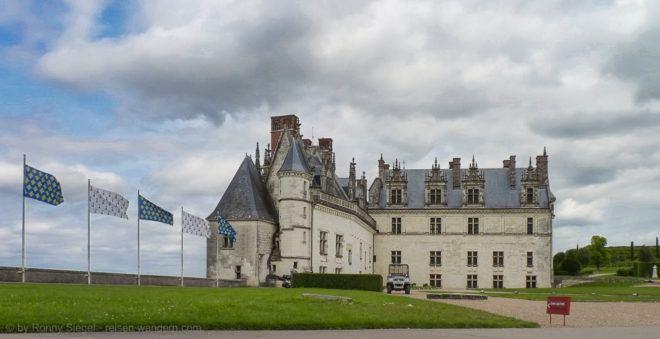 Foto: Schloss Amboise in Frankreich