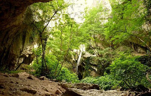durch dieses Tal führt der Klettersteig Sentiero Attrezzato Rio Sallagoni