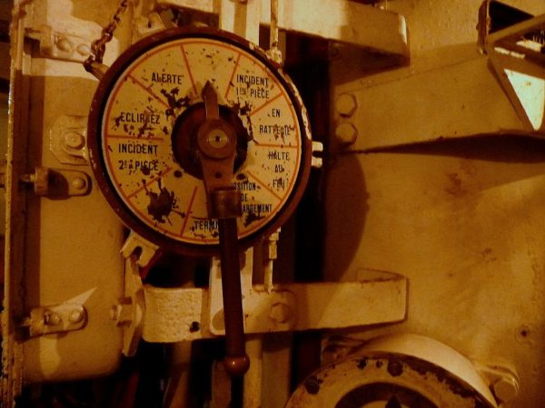 mechanische befehlskontrolle