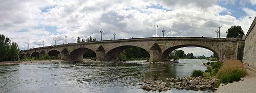 Orleans-die Bruecke Pont Georges v