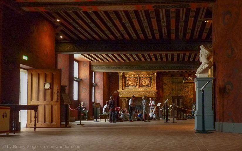 Foto: Schloss Blois in Frankreich