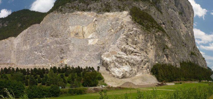 Panorama vom Steinbrauch und der Martinswand
