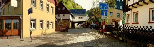 Schmilka - Ausgangsort zur Rübezahlstiege in der Sächsischen Schweiz