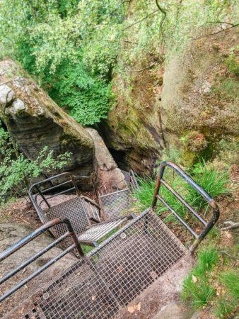 Treppen und Stufen vom Mittelwinkel