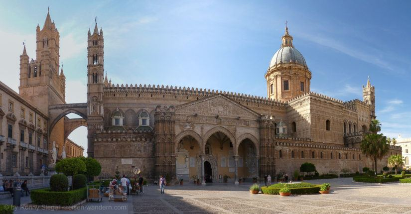 Kathedrale von Palermo von außen