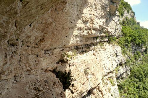 Das zweite Band des Gerardo Sega Klettersteig