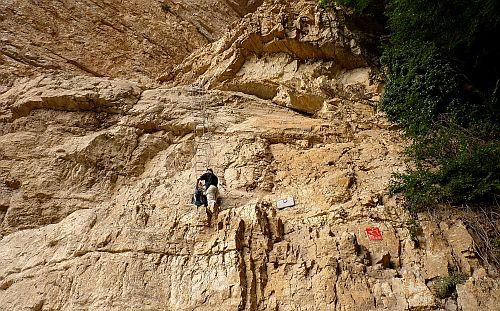 Einstieg zum Klettersteig Gerardo Sega am Gardasee