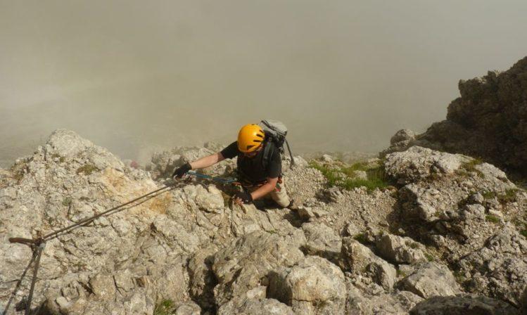 Klettersteig Pisciadu : Klettersteig in den dolomiten pisciadu