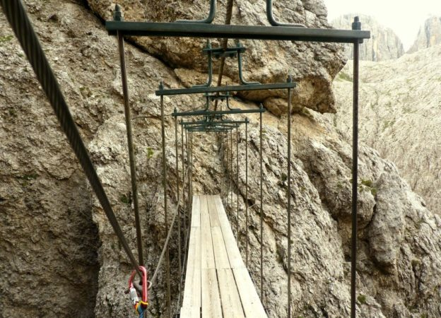 Klettersteig Pisciadu : Pisciadu m klettersteig sellagruppe