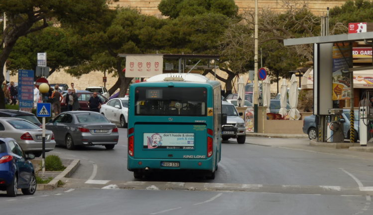 Bus auf Malta in Rabat
