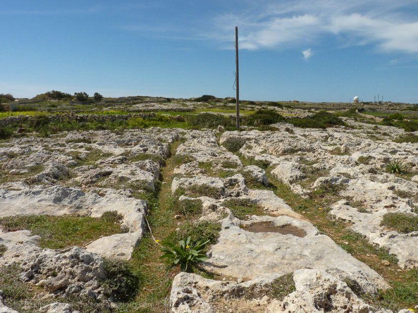 Cart Ruts auf Malta