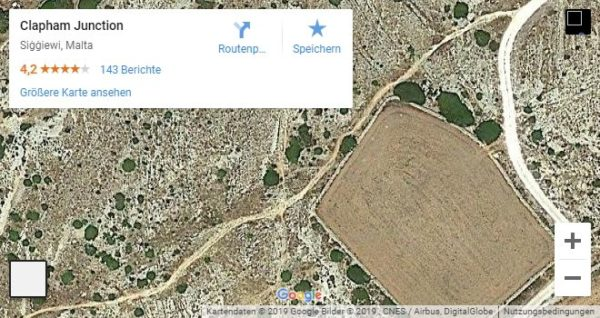 Google Maps Karte Malta Clapham J