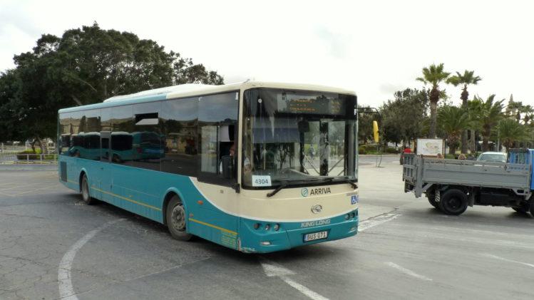 Malta Bus in Valletta
