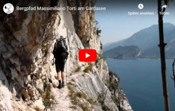 Video Gardasee Bergpfad Massimiliano Torti