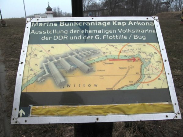 Kap Arkona DDR Marine Bunkeranlage