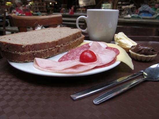 Landffrühstück in Karls Erlebnis-Dorf