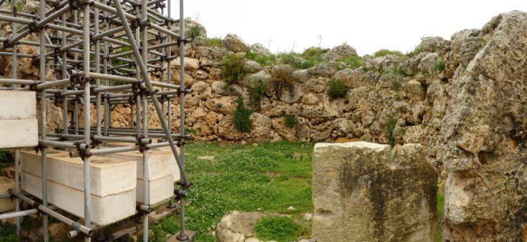 Ggantija Tempel auf Gozo