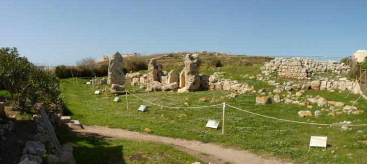 Skorba Tempel auf Malta