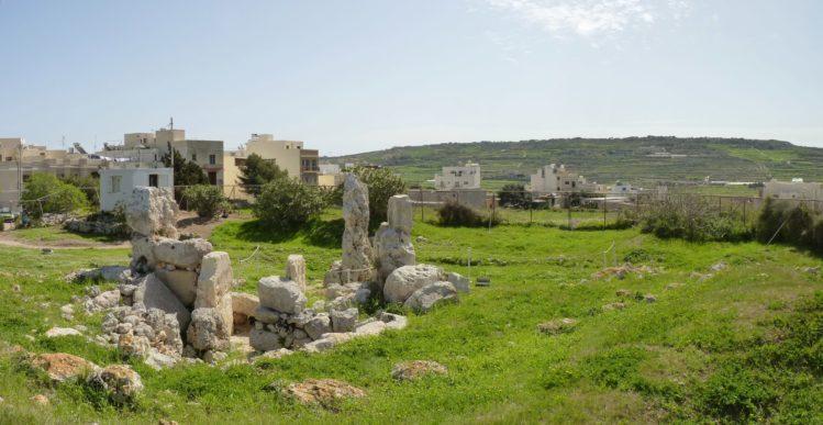 Der Skorba Tempel auf Malta