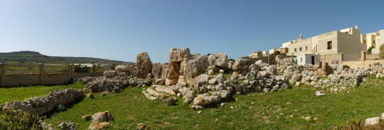 Der Ta'Hagrat Tempel auf Malta