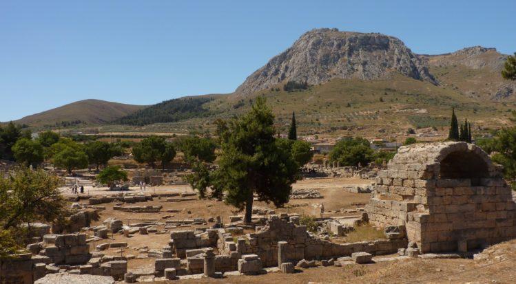 korinth ausgrabungstätte