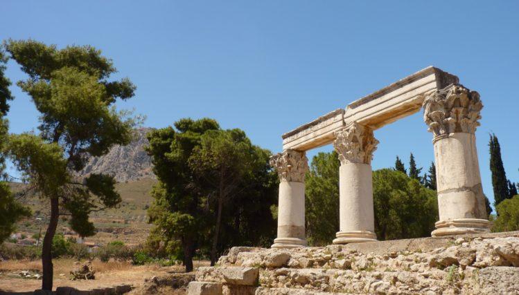 antikes korinth akrokorinth