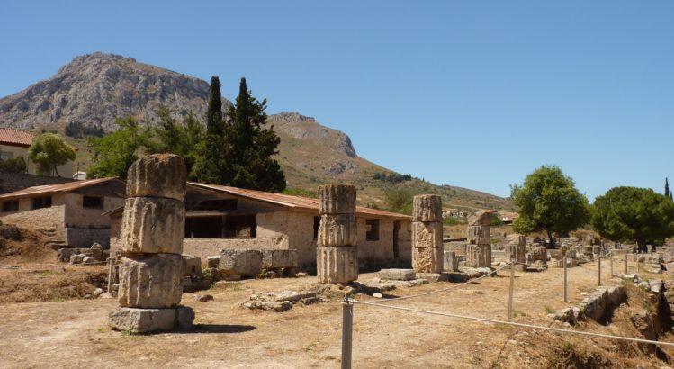 antikes korinth suedstoa