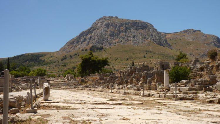 antikes korinth lechaion