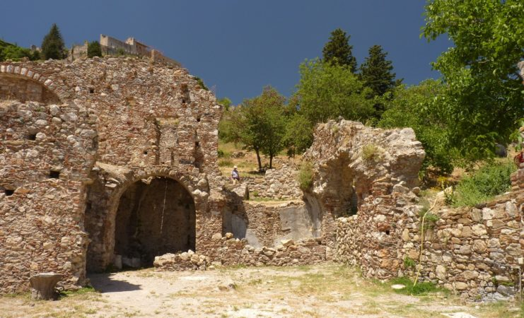 mystra ruinen