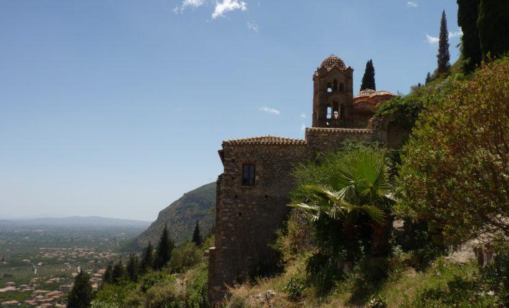 mystra pantanassa kloster