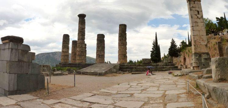 Säulenreste des Apollon Tempel