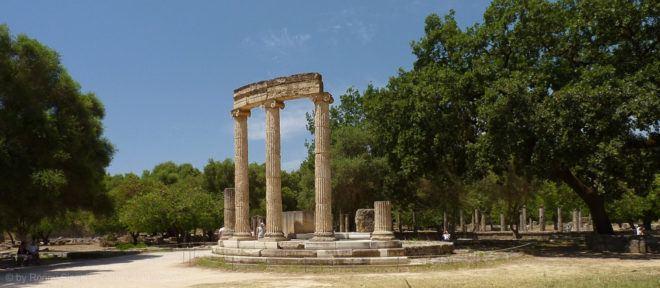 Olympia auf den Peloponnes