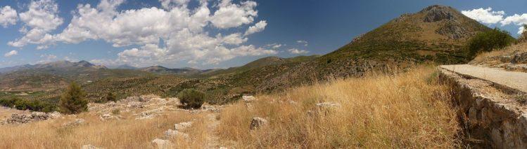 Panorama von Ebene von Argos