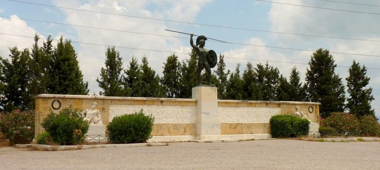 Denkmal von Leonidas - König von Sparta