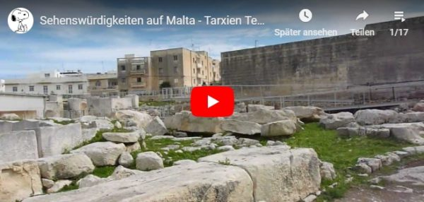 Video vom Tempel in Tarxien