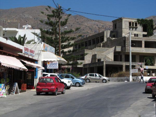 Kreta-Bauruinen in Griechenland