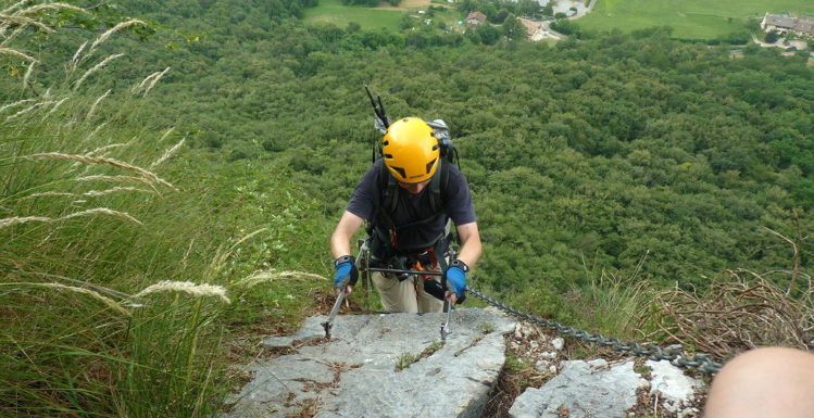 Via Ferrata Gamma I - Weg