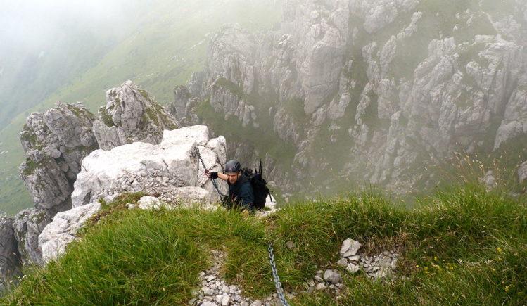 Via Ferrata Pesciola - Klettersteig