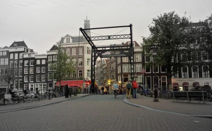 Brücke in Amsterdam.
