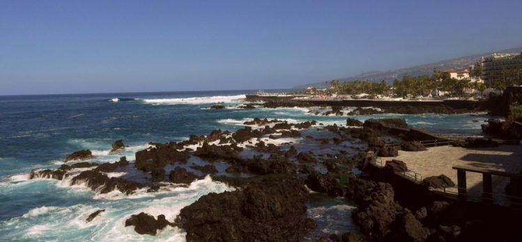 Küste mit Badeanlage in Puerto de la Cruz