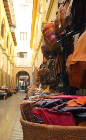 Die Alcaiceria, der alte Seidenmarkt in Granada