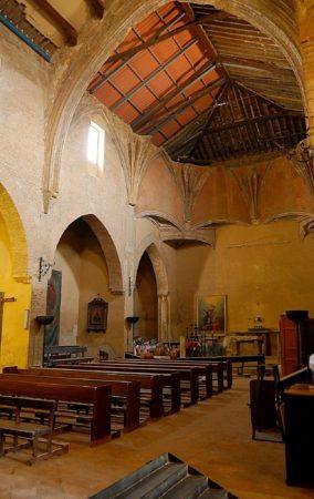 Inneres der Kirche Sant Nicolas in Granada