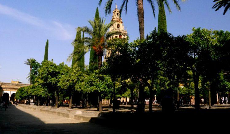 Innenhof der Kathedrale von Cordoba